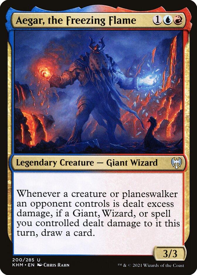 Carta /Aegar, the Freezing Flame de Magic the Gathering