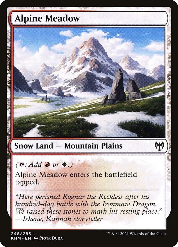 Carta /Alpine Meadow de Magic the Gathering