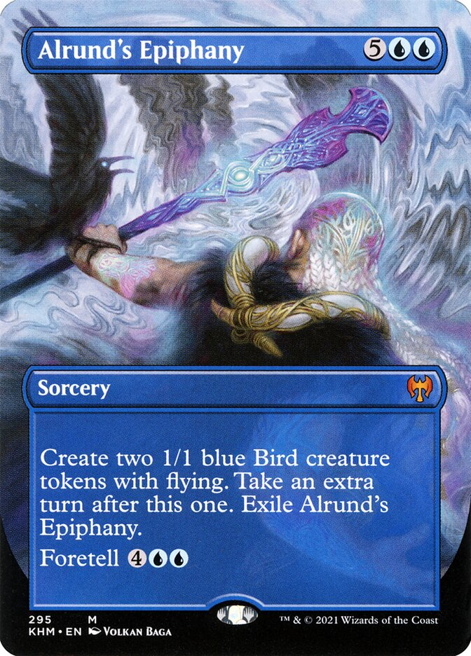 Carta /Alrund's Epiphany de Magic the Gathering