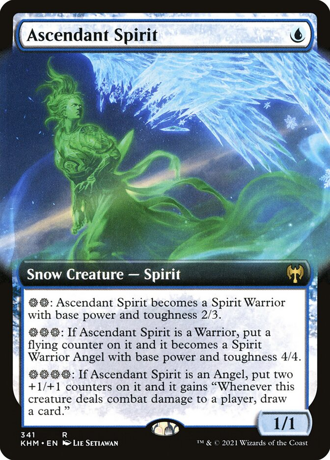 Carta /Ascendant Spirit de Magic the Gathering