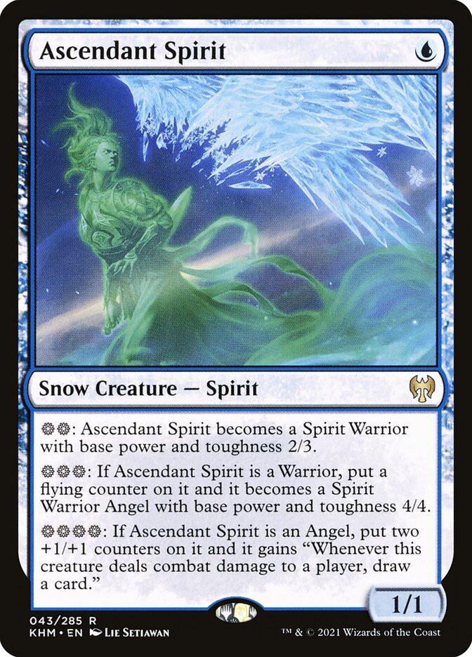 Carta /Ascendant Spirit de Magic the Gathering
