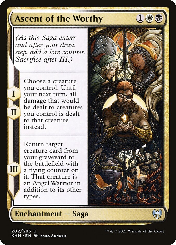 Carta /Ascent of the Worthy de Magic the Gathering