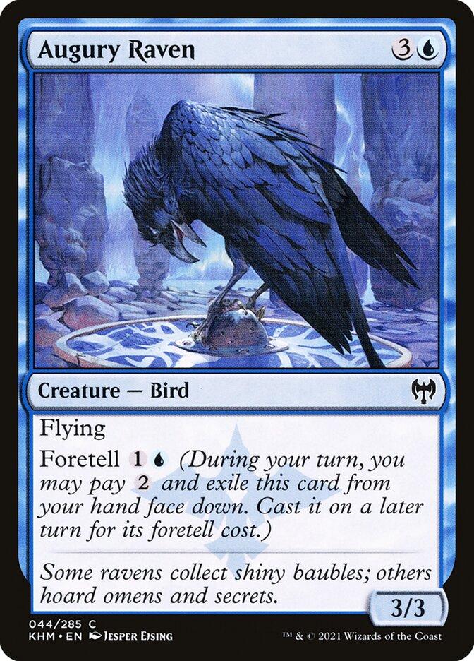 Carta /Augury Raven de Magic the Gathering