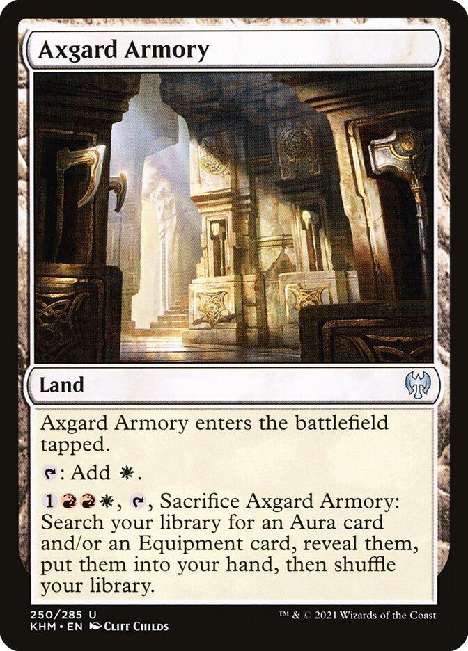 Carta /Axgard Armory de Magic the Gathering