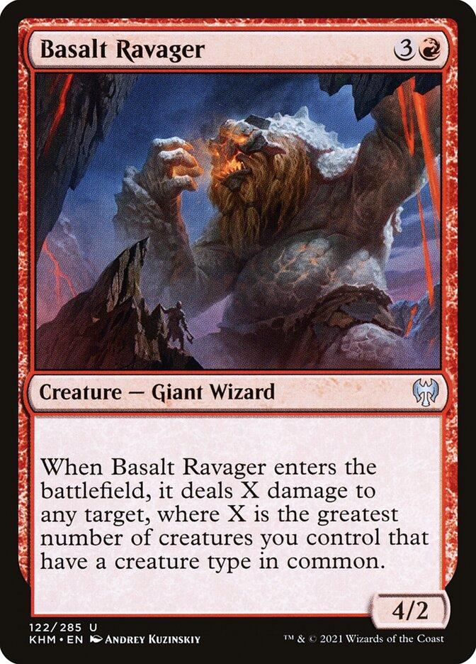 Carta /Basalt Ravager de Magic the Gathering