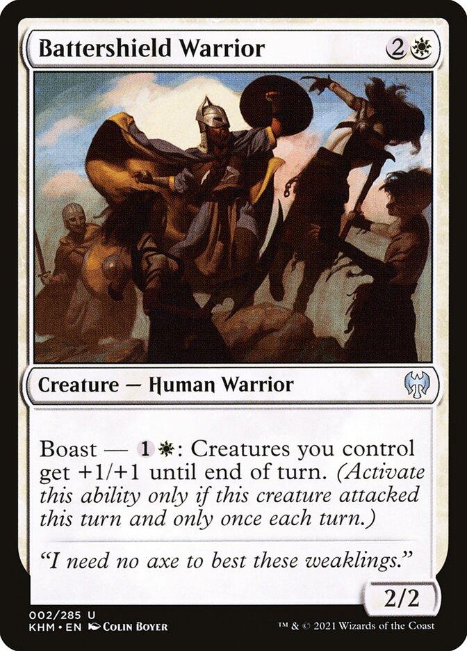 Carta /Battershield Warrior de Magic the Gathering