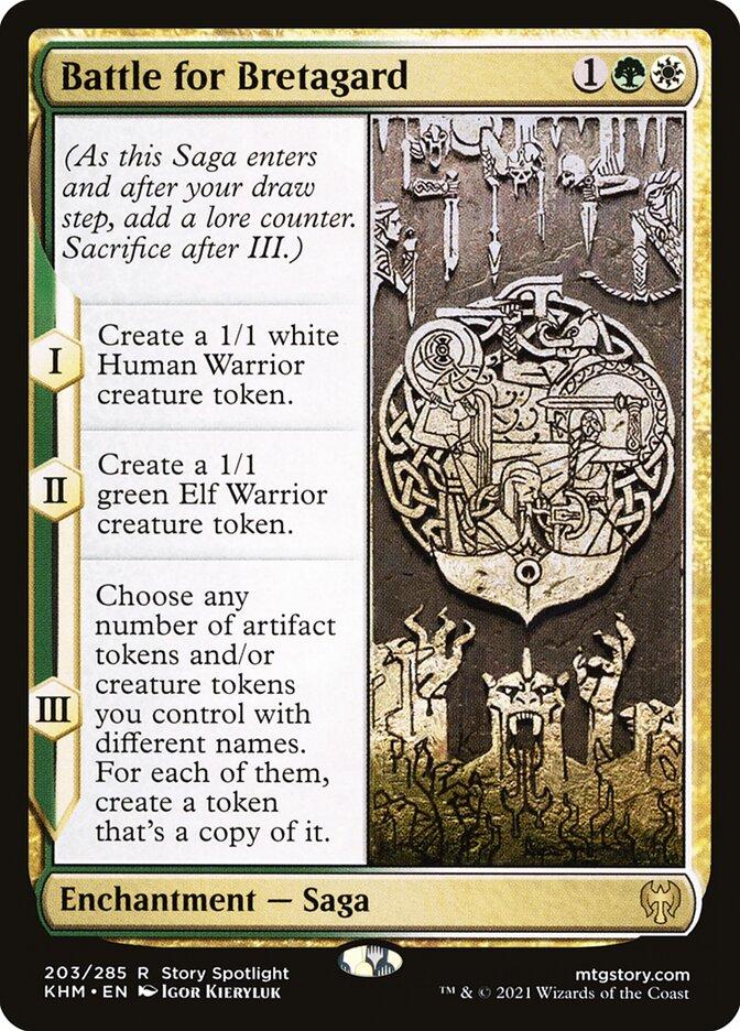 Carta /Battle for Bretagard de Magic the Gathering