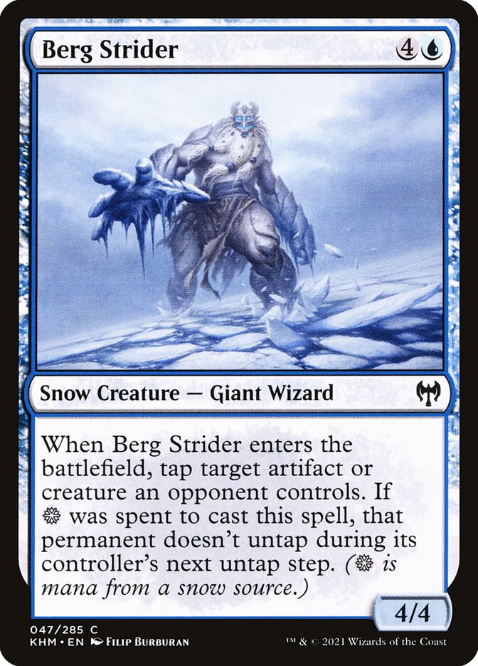 Carta /Berg Strider de Magic the Gathering