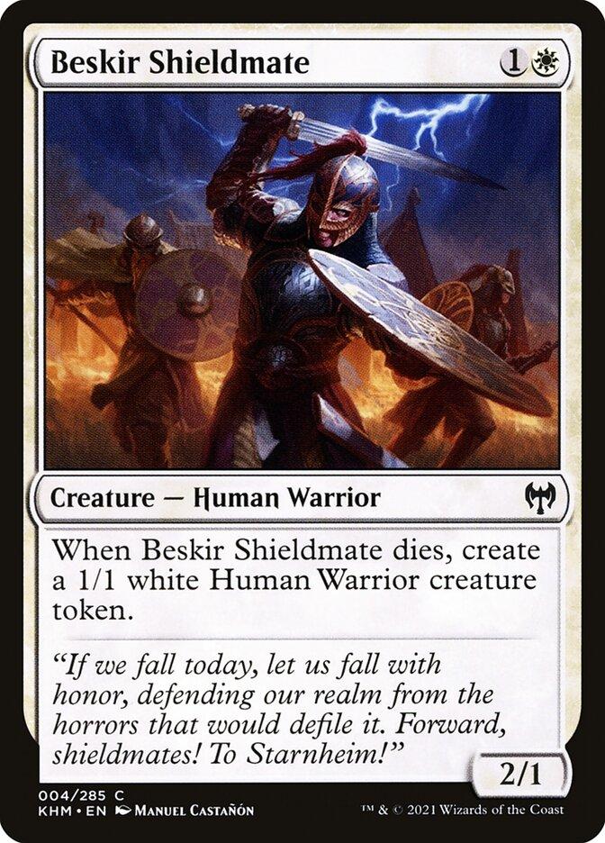 Carta /Beskir Shieldmate de Magic the Gathering