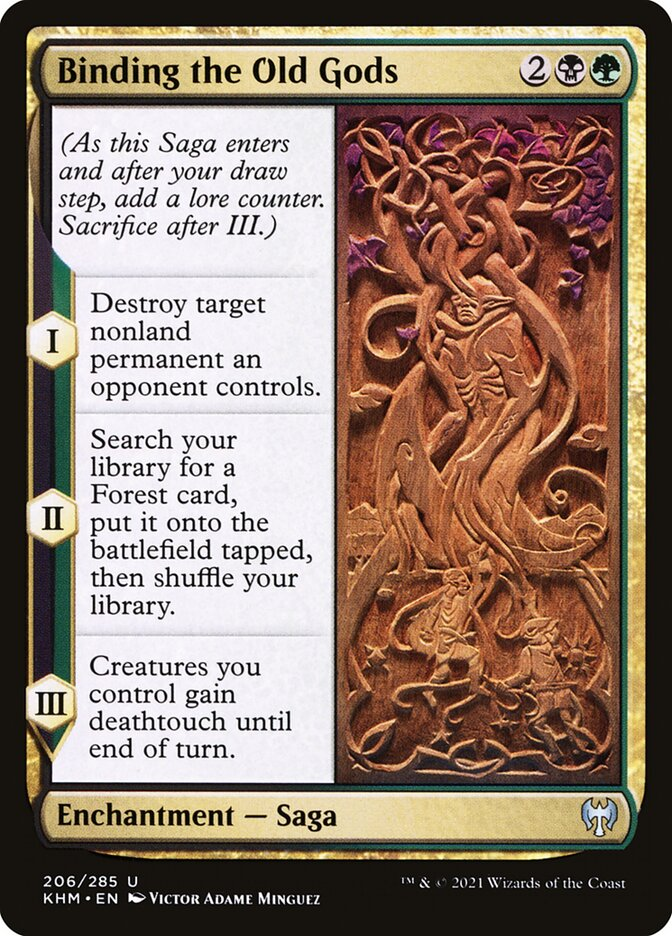 Carta /Binding the Old Gods de Magic the Gathering