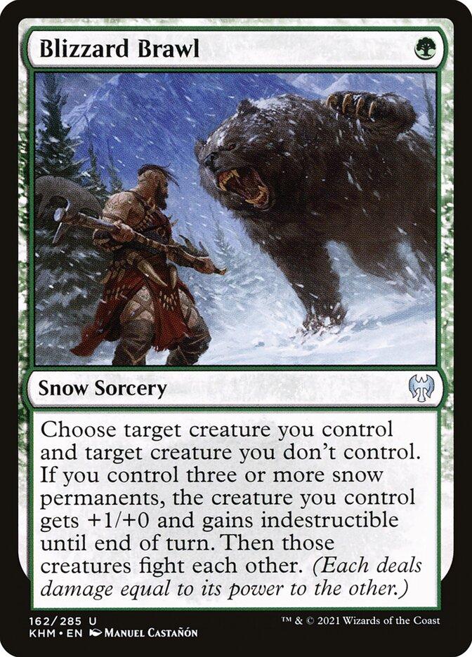 Carta /Blizzard Brawl de Magic the Gathering