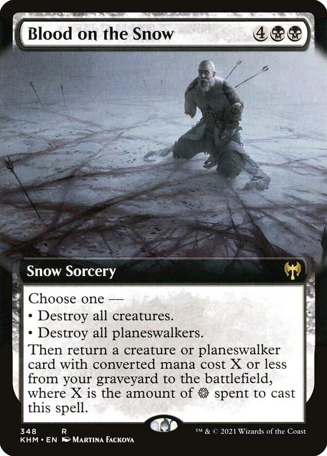 Carta /Blood on the Snow de Magic the Gathering