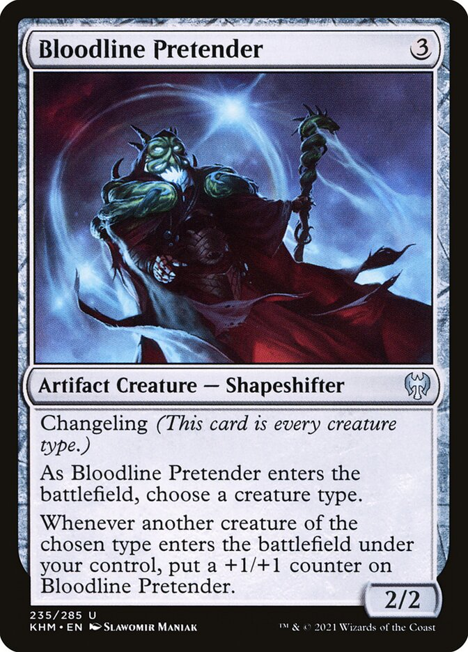 Carta /Bloodline Pretender de Magic the Gathering