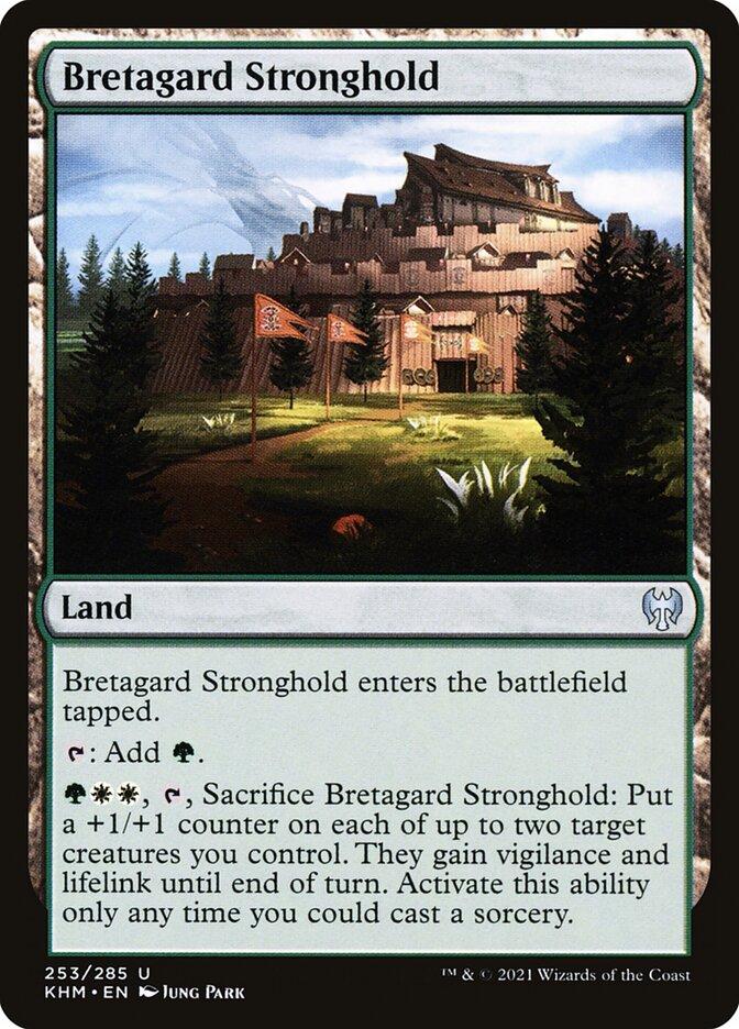 Carta /Bretagard Stronghold de Magic the Gathering