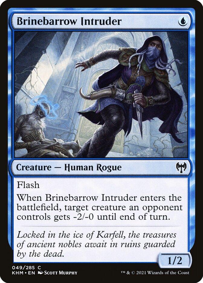 Carta /Brinebarrow Intruder de Magic the Gathering