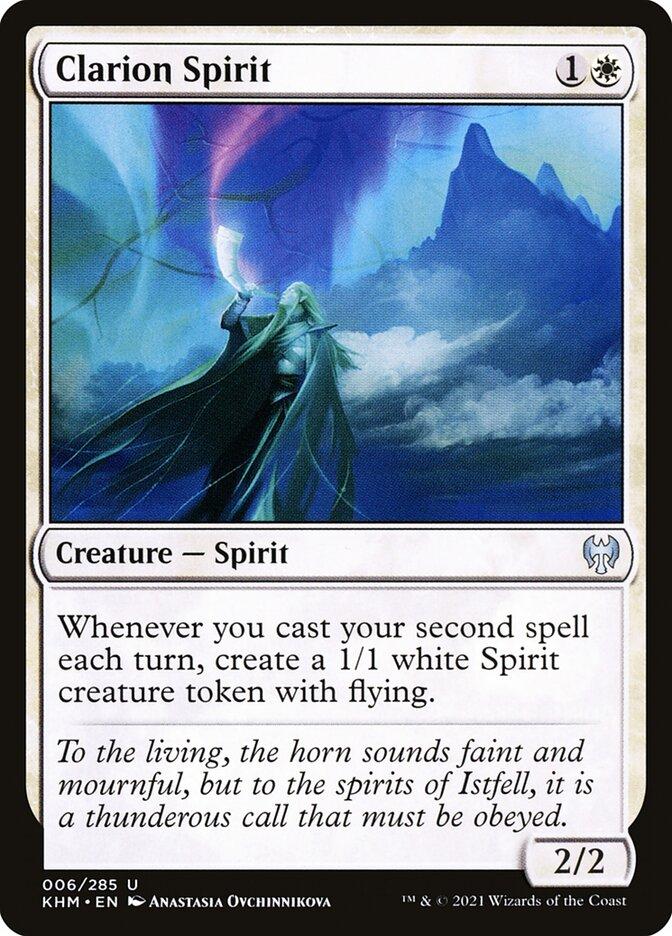 Carta /Clarion Spirit de Magic the Gathering