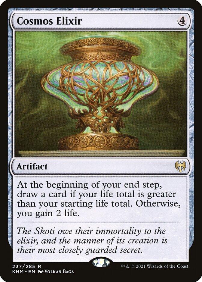 Carta /Cosmos Elixir de Magic the Gathering