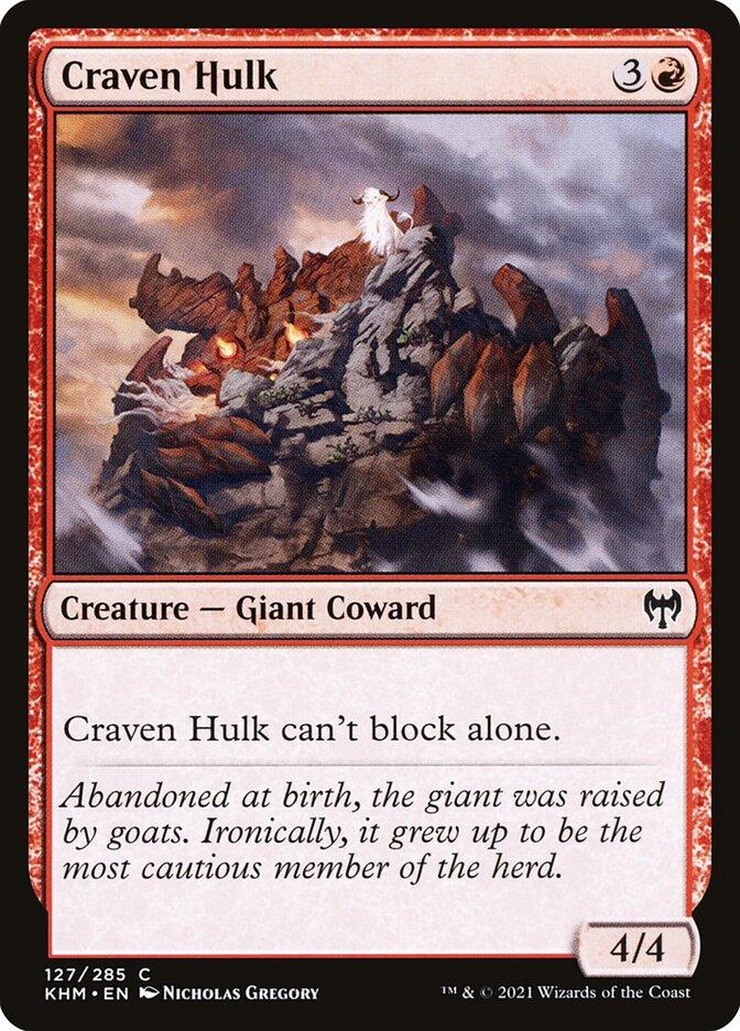 Carta /Craven Hulk de Magic the Gathering