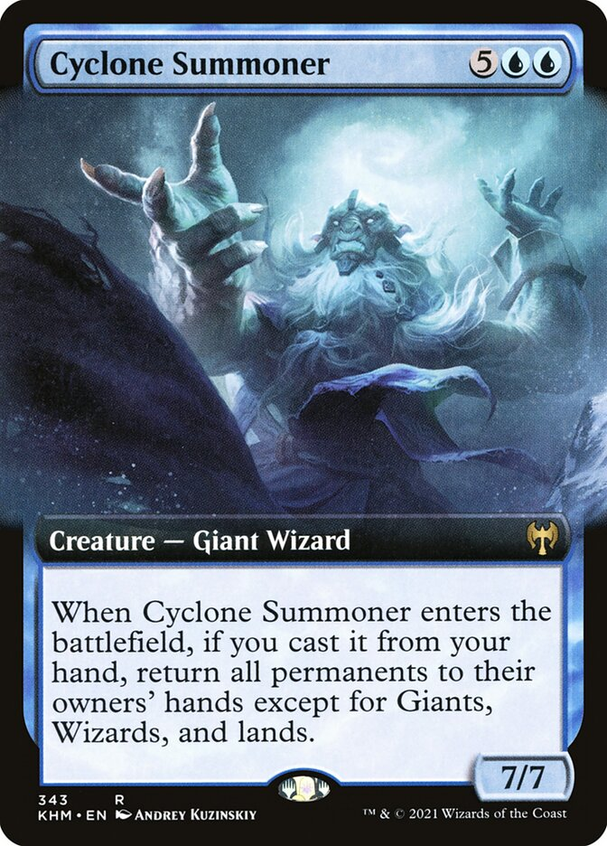 Carta /Cyclone Summoner de Magic the Gathering