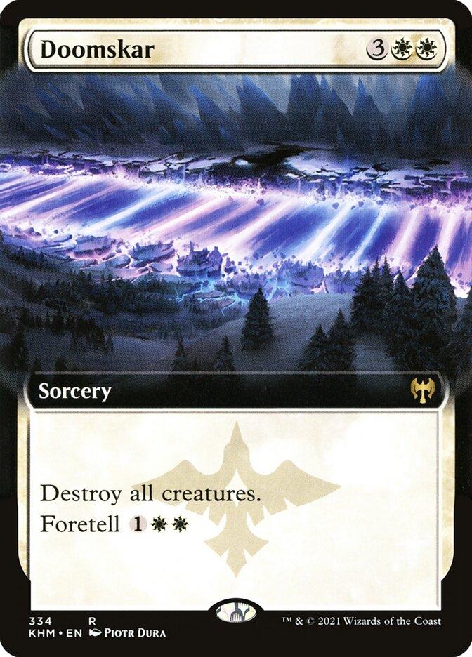 Carta /Doomskar de Magic the Gathering