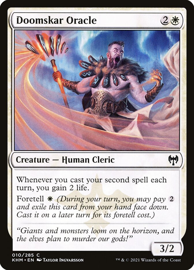Carta /Doomskar Oracle de Magic the Gathering