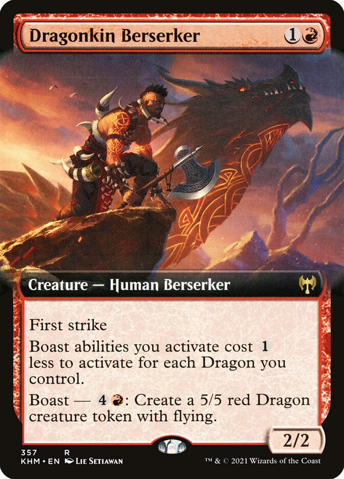 Carta /Dragonkin Berserker de Magic the Gathering