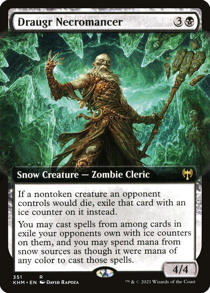 Carta /Draugr Necromancer de Magic the Gathering