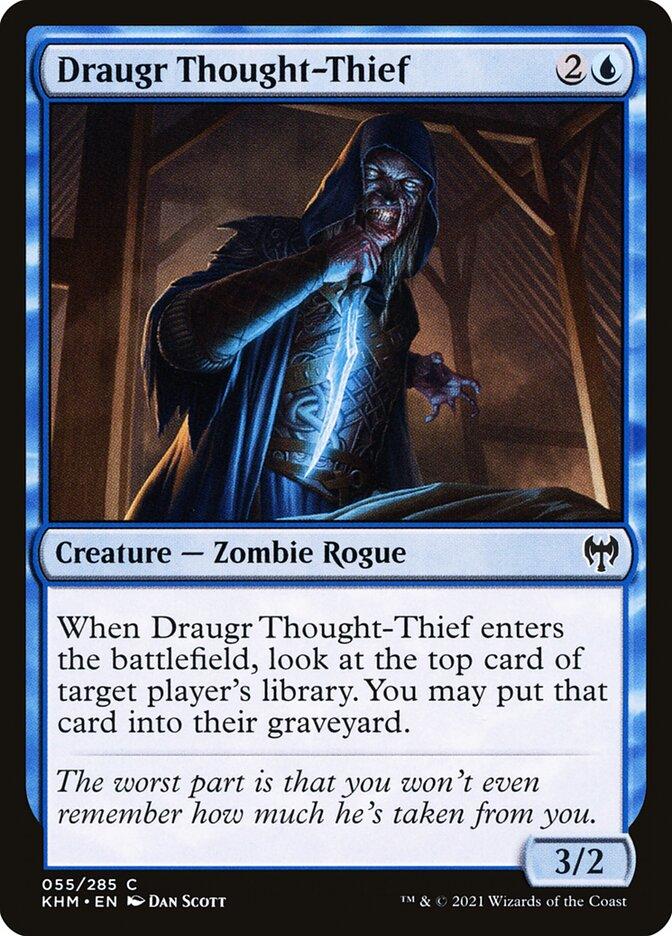 Carta /Draugr Thought-Thief de Magic the Gathering