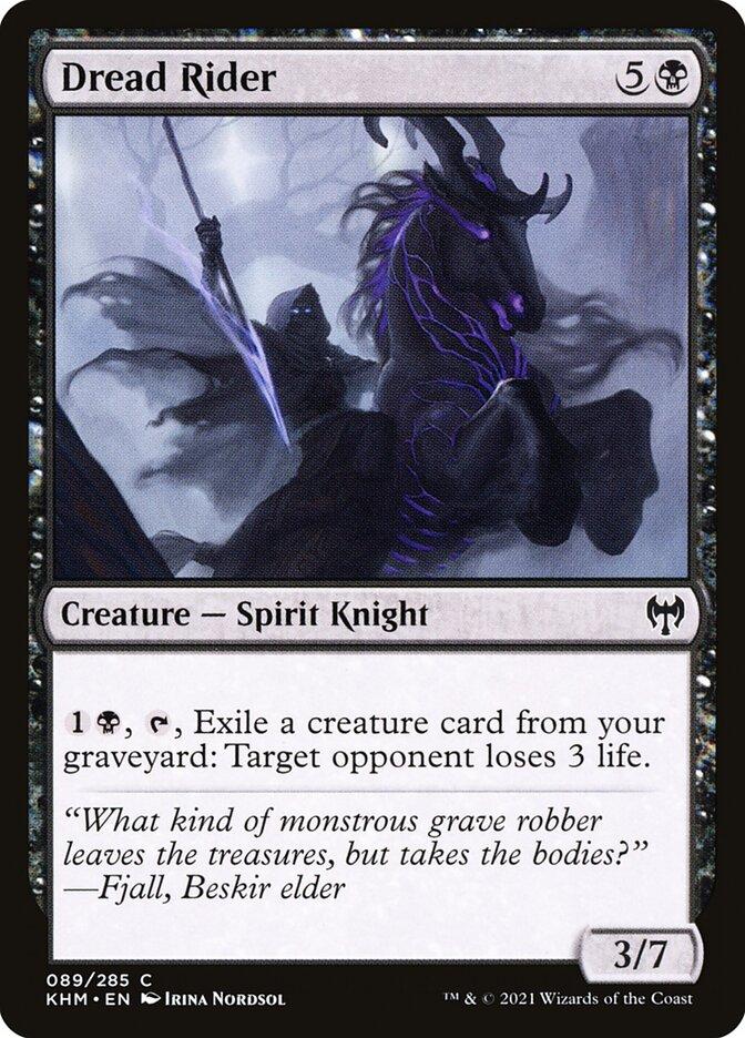 Carta /Dread Rider de Magic the Gathering