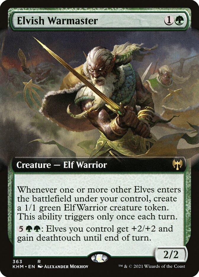 Carta /Elvish Warmaster de Magic the Gathering