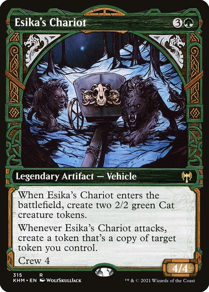 Carta /Esika's Chariot de Magic the Gathering