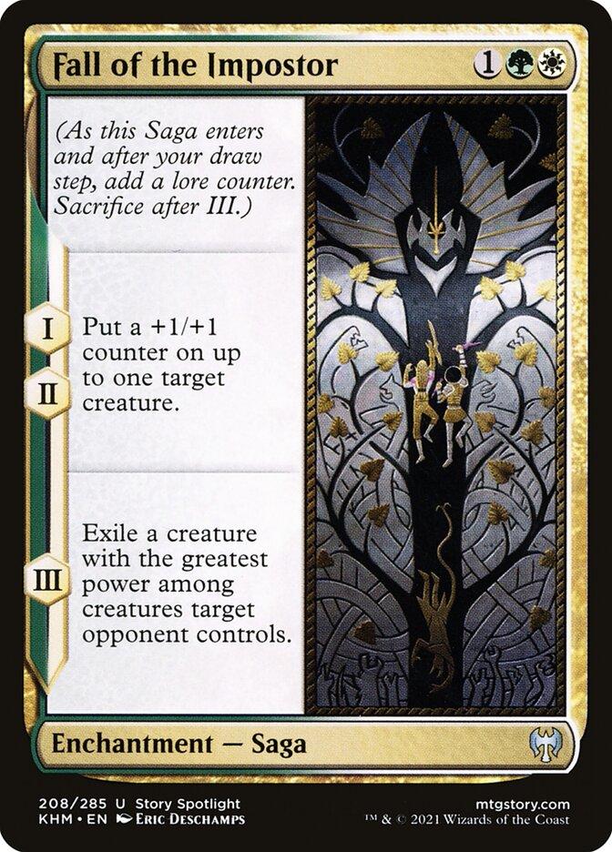 Carta /Fall of the Impostor de Magic the Gathering