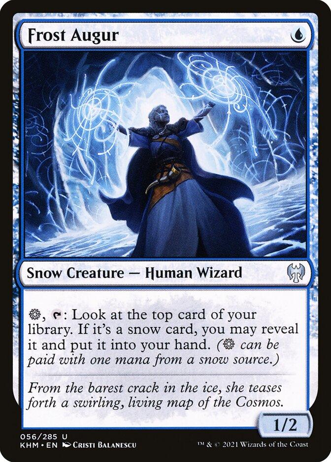 Carta /Frost Augur de Magic the Gathering