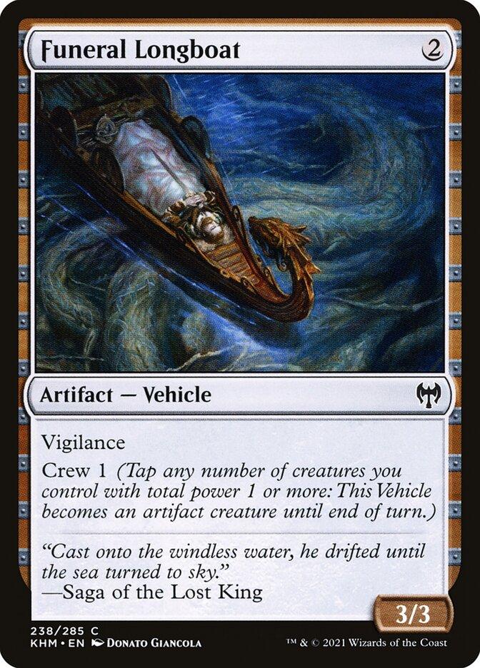 Carta /Funeral Longboat de Magic the Gathering