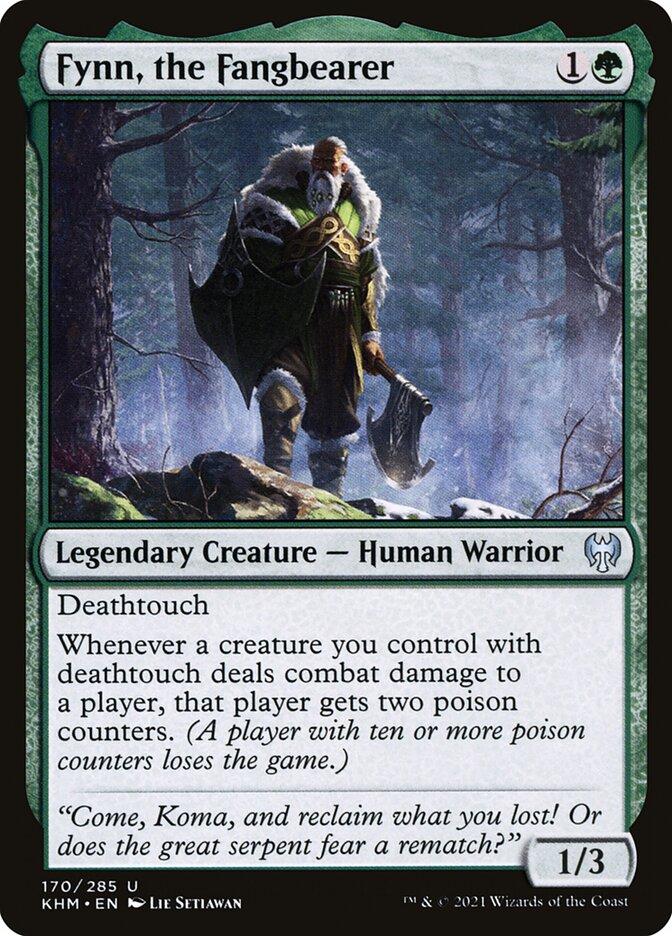 Carta /Fynn, the Fangbearer de Magic the Gathering