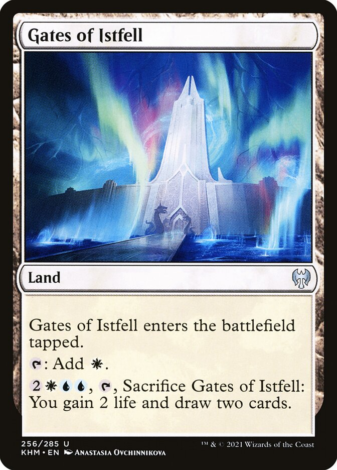 Carta /Gates of Istfell de Magic the Gathering