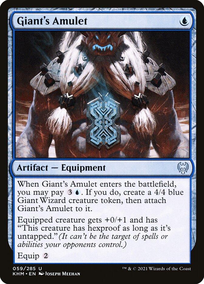 Carta /Giant's Amulet de Magic the Gathering