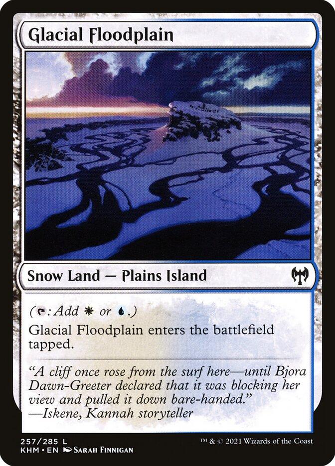 Carta /Glacial Floodplain de Magic the Gathering