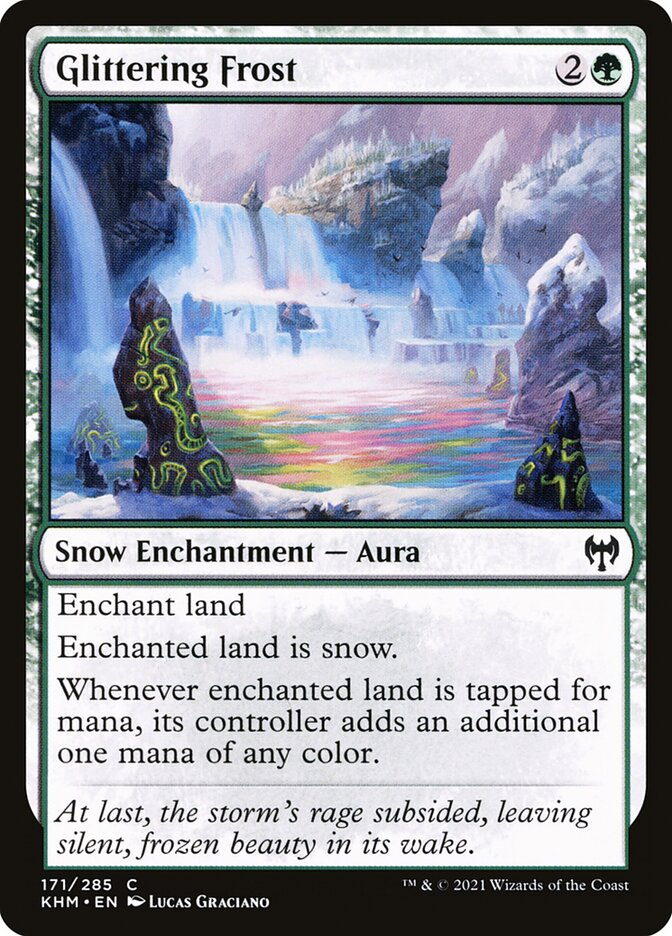 Carta /Glittering Frost de Magic the Gathering