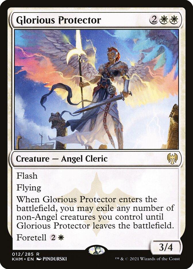 Carta /Glorious Protector de Magic the Gathering