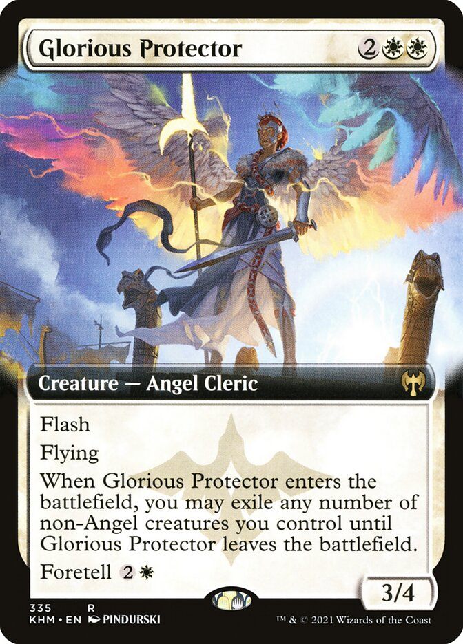 Carta /Glorious Protector de Magic the Gathering
