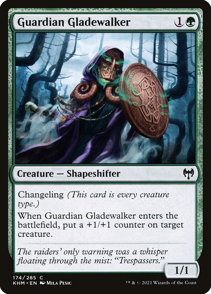 Carta /Guardian Gladewalker de Magic the Gathering