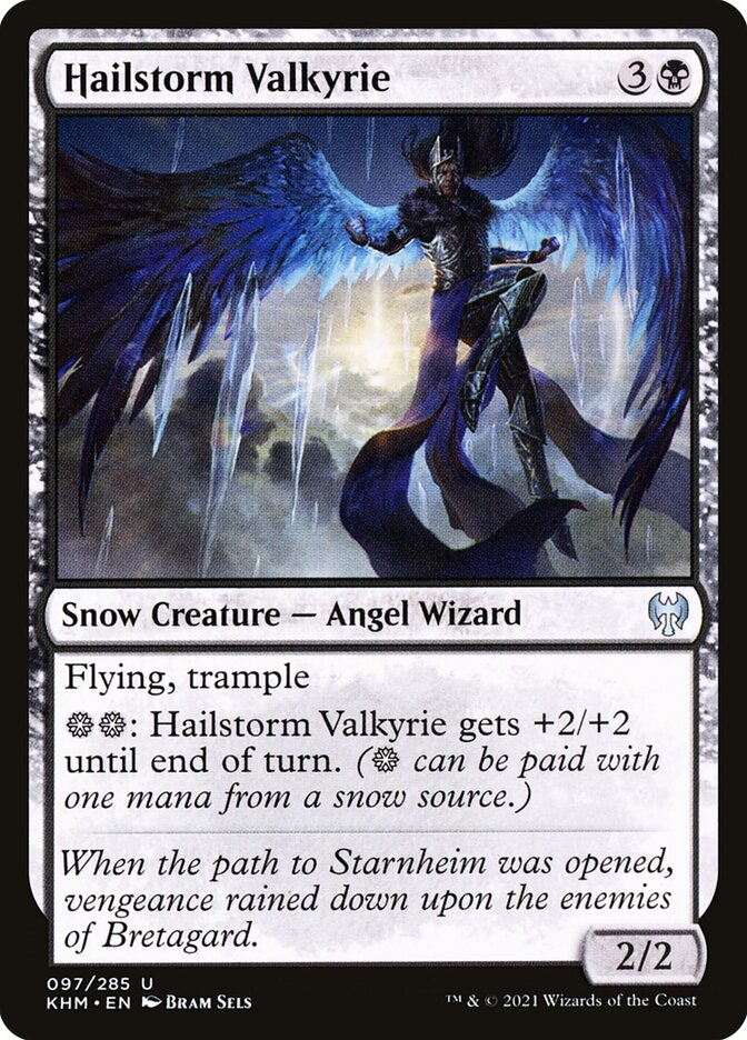 Carta /Hailstorm Valkyrie de Magic the Gathering