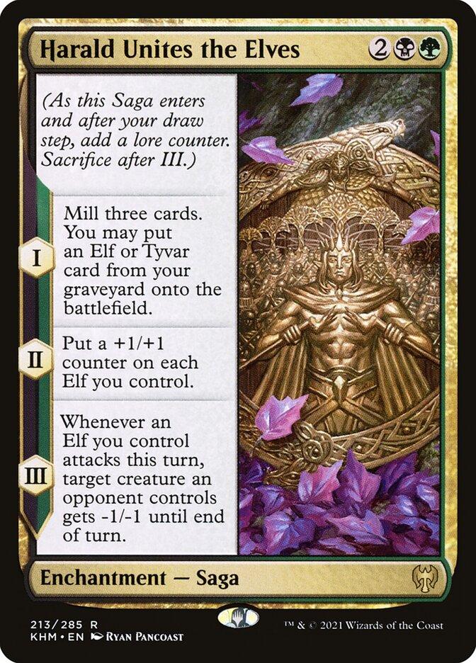 Carta /Harald Unites the Elves de Magic the Gathering