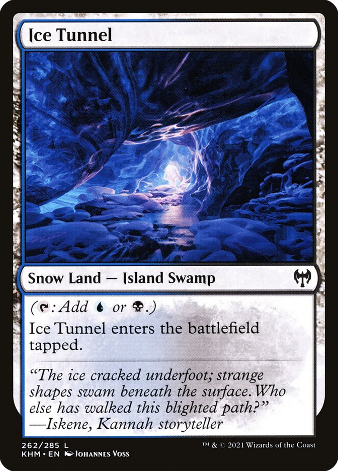 Carta /Ice Tunnel de Magic the Gathering