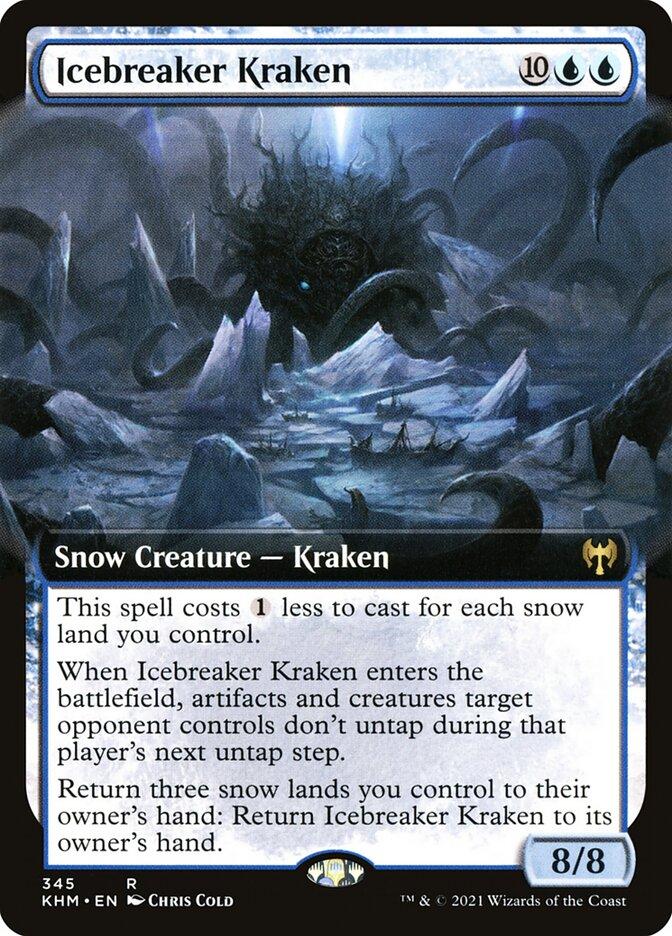Carta /Icebreaker Kraken de Magic the Gathering
