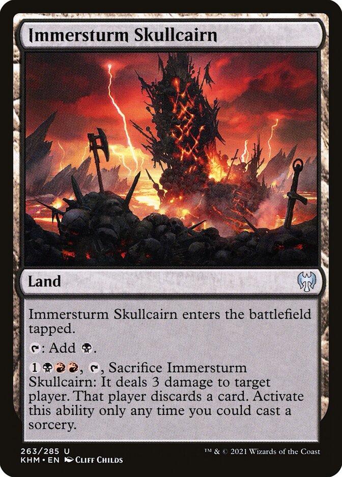 Carta /Immersturm Skullcairn de Magic the Gathering