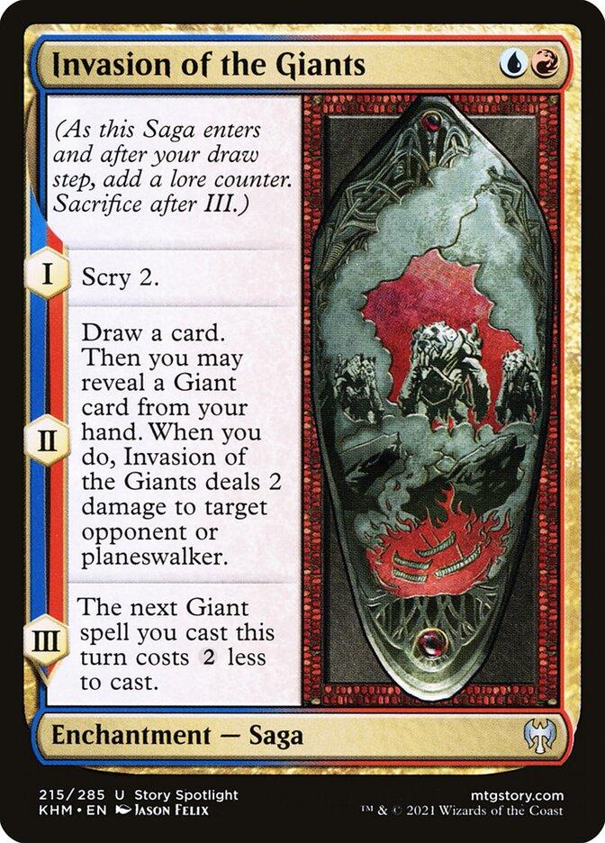 Carta /Invasion of the Giants de Magic the Gathering