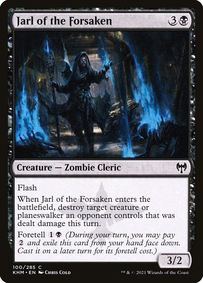 Carta /Jarl of the Forsaken de Magic the Gathering