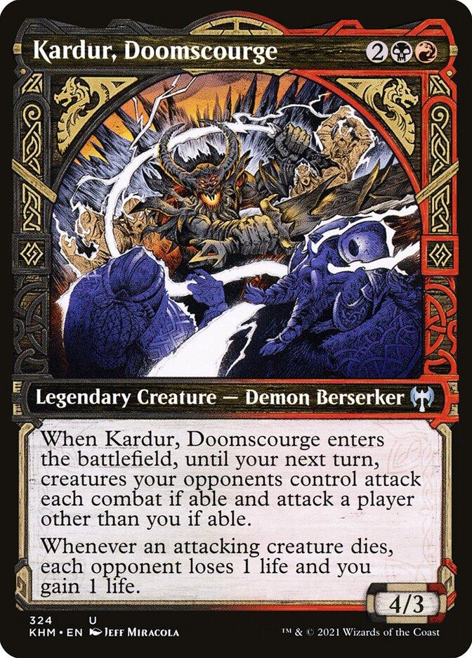 Carta /Kardur, Doomscourge de Magic the Gathering